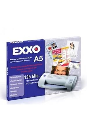 Exxo Dosy Laminasyon Filmi A-5 100 Lü 125mic