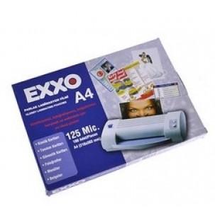 Exxo Dosy Laminasyon Filmi A-4  100 lü 125 mic