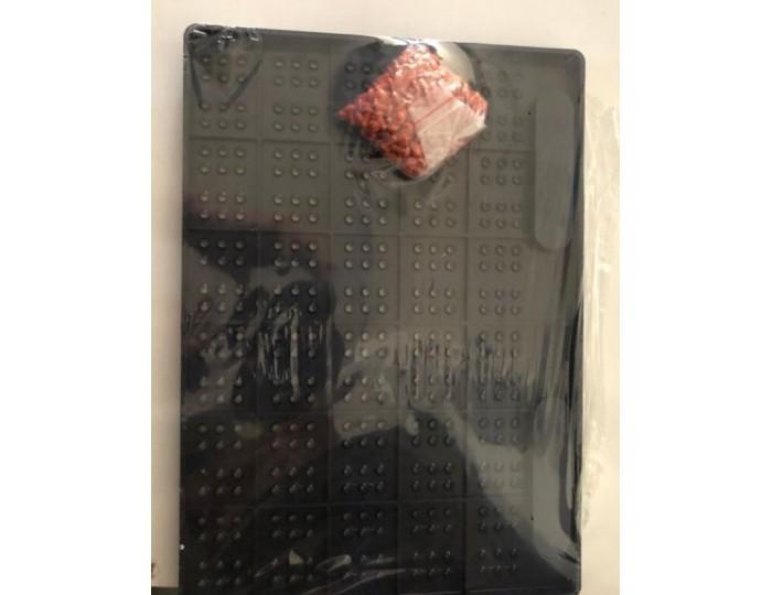Braille İlk Okuma Yazma Tablet Boncuklu Görme Engelliler İçin