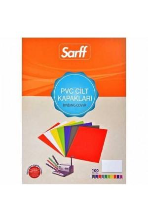 Sarff PVC 160 micron Şeffaf A3 Cilt Kapağı 100 Adet